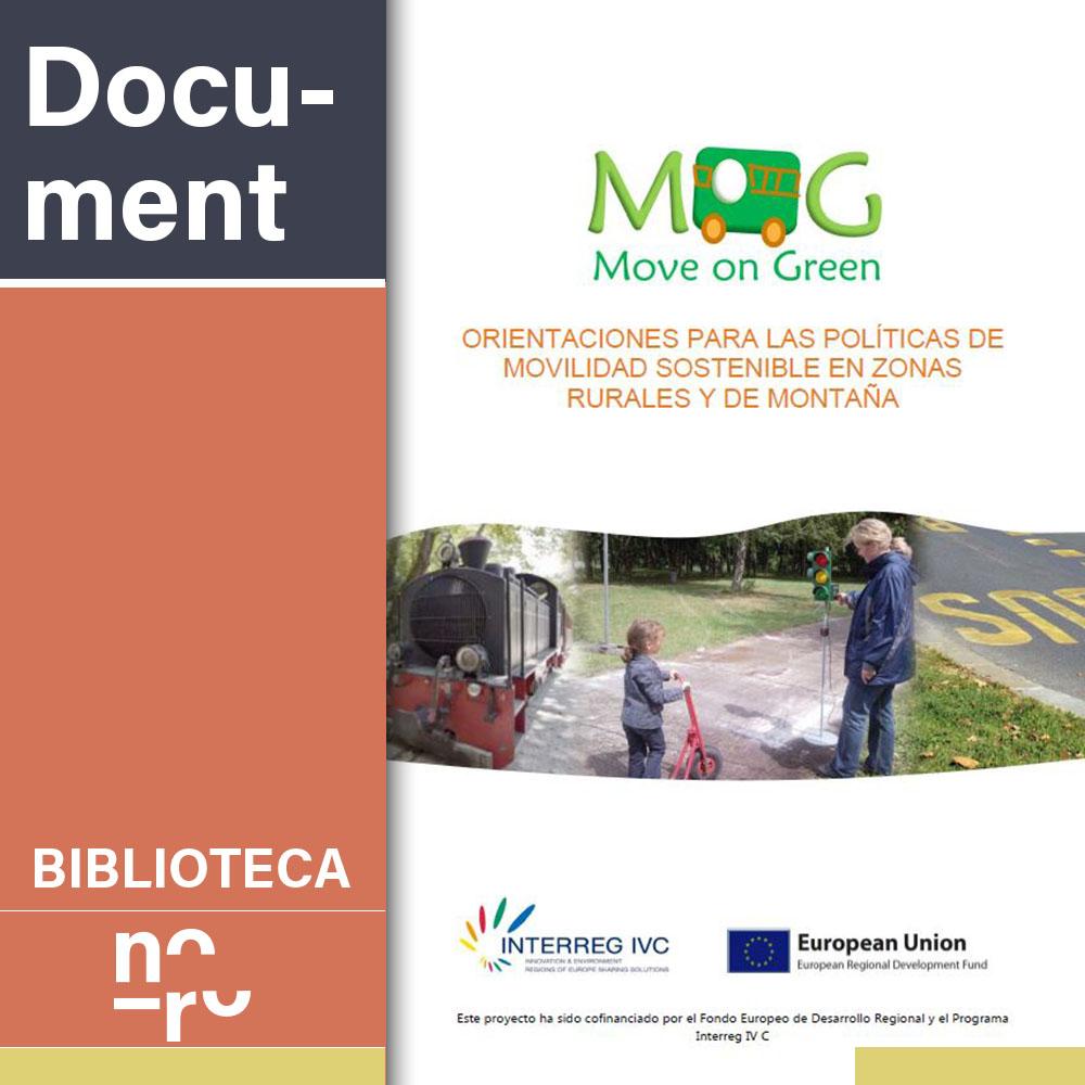 Orientaciones para las políticas de movilidad sostenible en zonas rurales y de montaña